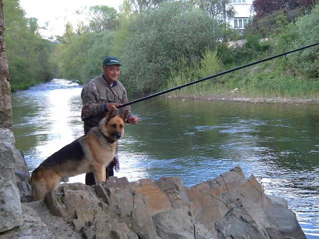 Un compañero de pesca muy especial.