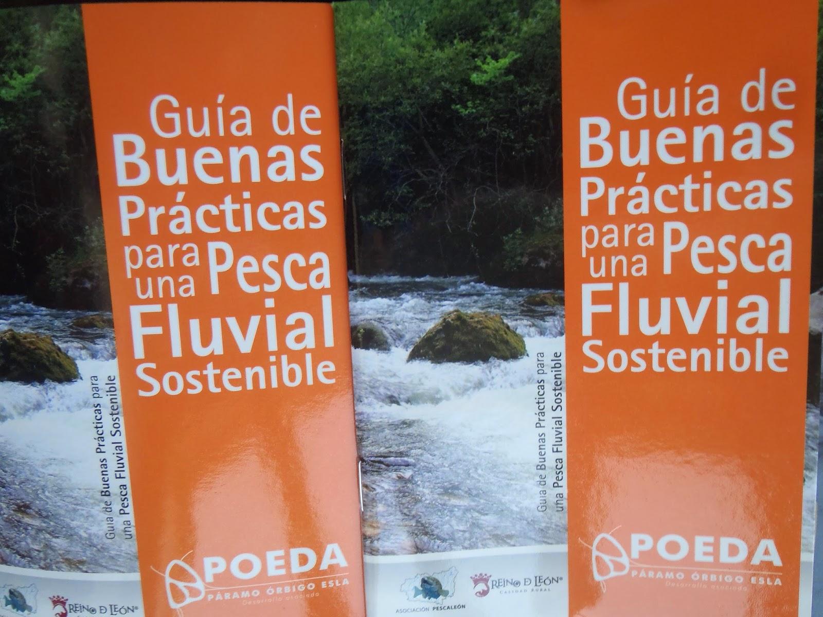 Guía de Buenas Prácticas para una Pesca Fluvial Sostenible.
