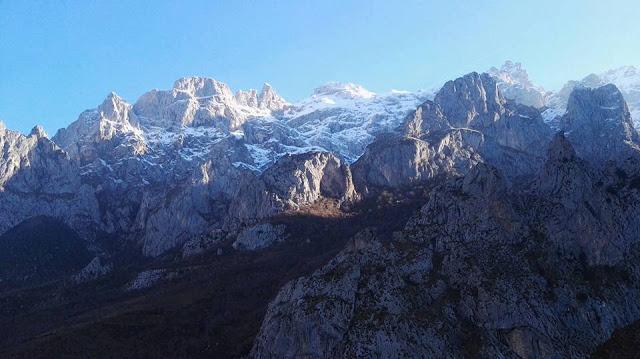 Pescaleón en Los picos de Europa.