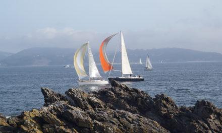 En el mar de Galicia.