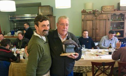 Entrañable homenaje al Maestro Venancio.