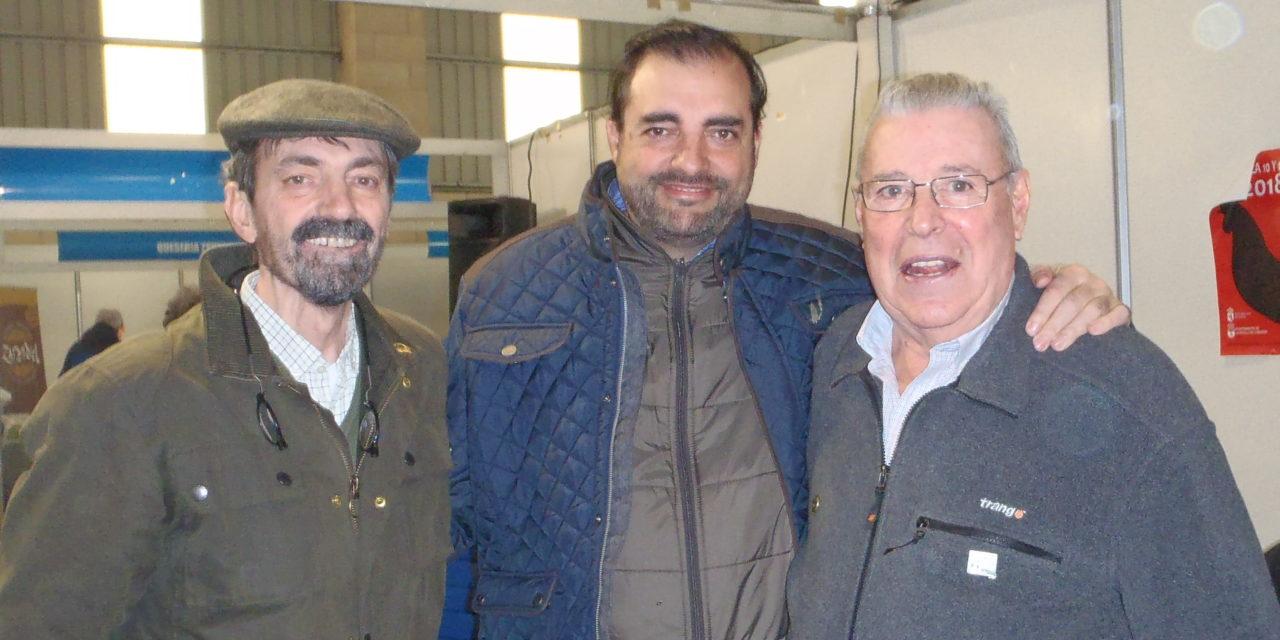 Tres Maestros de la Pesca y la Amistad.