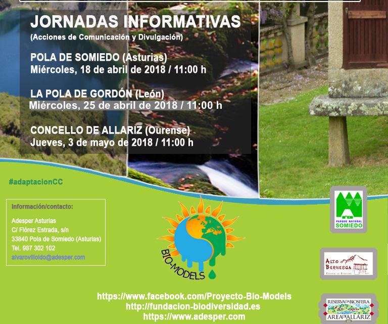 JORNADAS INFORMATIVAS PROYECTO BIO-MODELS